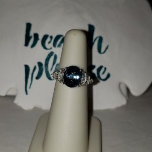 .925 London Blue Topaz Ring